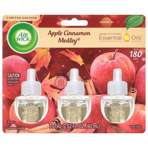 Air Wick Apple Cinnamon Scented Oils Refill