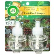 Air Wick Scented Oil Woodland Pine Twin Refill