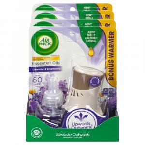 Air Wick Lavender & Chamomile Fragrance Warmer & Refill