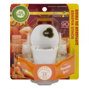 Air Wick Scented Oil Pumpkin Spice Starter Kit