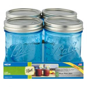 Ball Elite Collection Pint Canning Jar