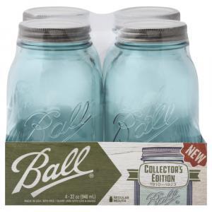 Ball Collector's Edition Aqua Quart Jars