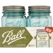 Ball Collector's Edition Aqua Pint Canning Jar