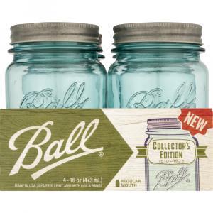 Ball Collector's Edition Aqua Pint Canning Jar