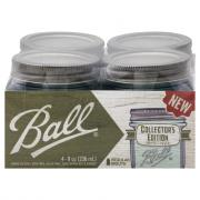 Ball Collector's Edition Aqua Half Pint Canning Jar