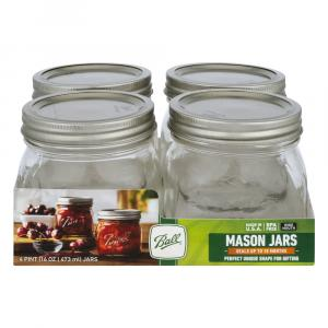 Ball Wide Mouth Pint Jars