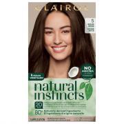 Clairol Natural Instincts #5 Hazelnut Medium Brown