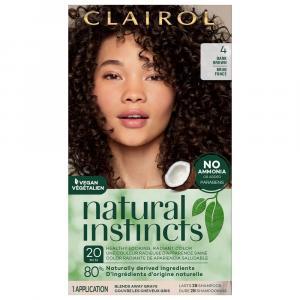 Clairol Natural Instincts #4 Nutmeg Dark Brown
