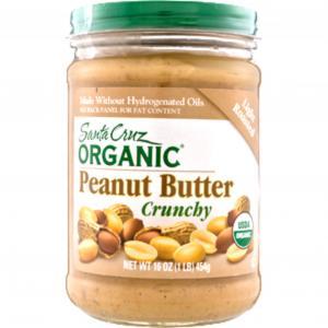 Santa Cruz Organic Light Roasted Crunchy Peanut Butter