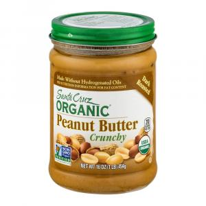 Santa Cruz Organic Dark Roasted Crunchy Peanut Butter