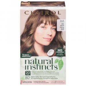 Clairol Natural Instincts #6A Tweed Light Cool Brown