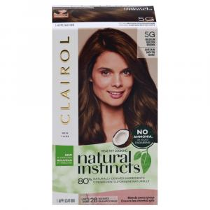 Clairol Natural Instincts #5G Pecan Medium Golden Brown