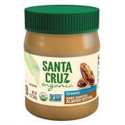Santa Cruz Organic Dark Roasted Creamy Almond Butter