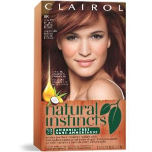 Clairol Natural Instincts #6R Spiced Tea Light Auburn