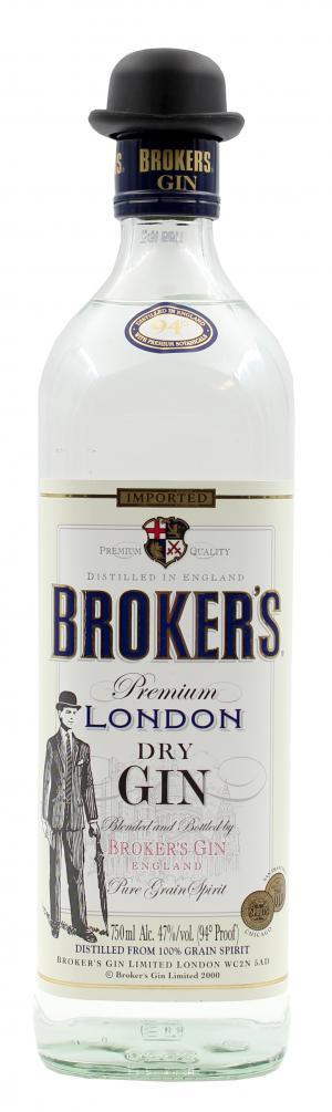 Brokers London Gin