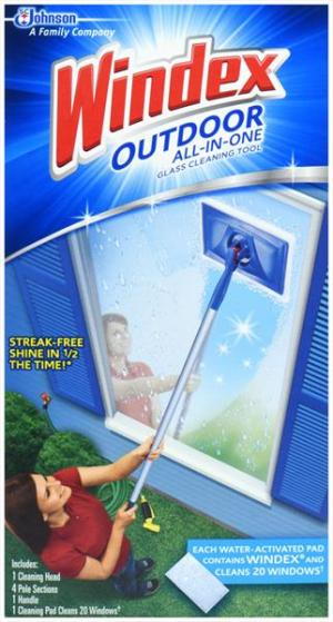 Windex Outdoor All-in-one Starter Kit