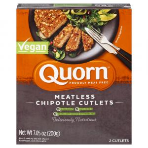 Quorn Vegan Meatless Chipotle Cutlets