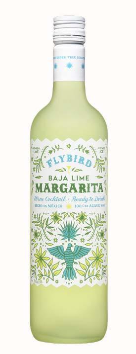 Flybird Wine Cocktail Baja Lime Margarita