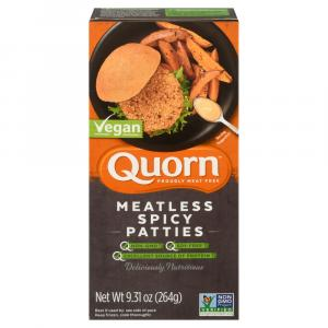 Quorn Spicy Vegan Chicken Patties