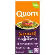 Quorn Spicy Vegan Chicken Patties