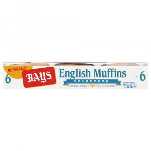 Bays Sour Dough English Muffins