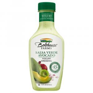 Bolthouse Farms Salsa Verde Avocado Yogurt Dressing
