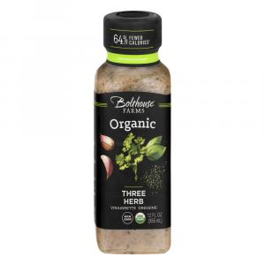 Bolthouse Farms Organic Three Herb Vinaigrette Dressing