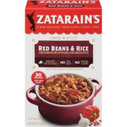 Zatarain's Red Beans & Rice Mix