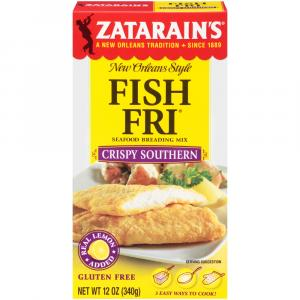 Zatarain's Seasoned Fish Fry Crumbs