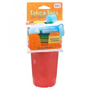 The First Years Take & Toss 10 Oz. Spill Proof Cups