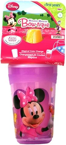 Disney First Years Minnie Mouse Bow-tique Sippy Cup