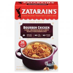 Zatarain's Bourbon Chicken Flavored Rice