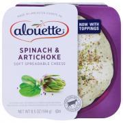 Alouette Spinach & Artichoke Spreadable Cheese
