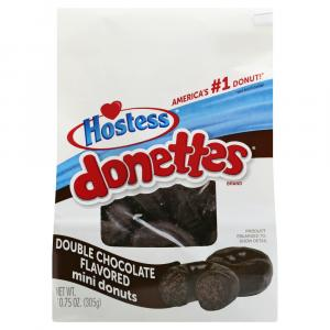 Hostess Double Chocolate Flavored Mini Donuts