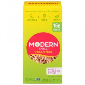 Modern Table Vegan Mac White Cheddar Style