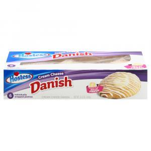 Hostess Cream Cheese Danish