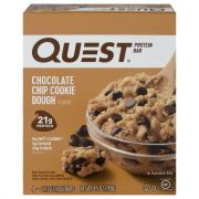 Quest Protein Chocolate Chip Cookie Dough Bar