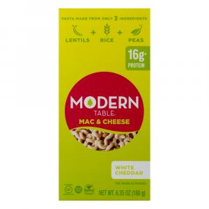 Modern Table Mac & Cheese Complete Protein White Cheddar