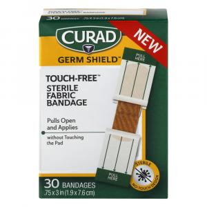 CURAD Touch-Free Sterile Fabric Bandage