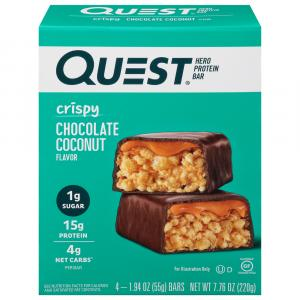 Quest Protein Bar Crispy Chocolate Coconut