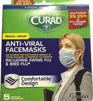 Curad Anti-viral Face Masks