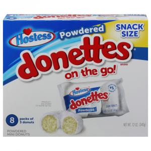 Hostess Powdered Donettes On The Go