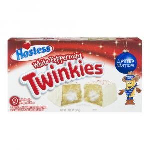 Hostess Holiday White Peppermint Twinkies