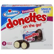 Hostess Frosted Donettes On The Go