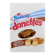 Hostess Donettes Cinnamon Sugar Crunch Mini Donuts