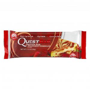 Questbar Strawberry Cheese Cake Protein Bar