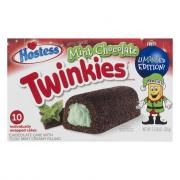Hostess Mint Chocolate Twinkies