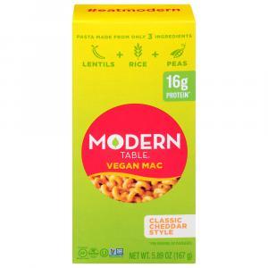 Modern Table Vegan Mac Classic Cheddar Style