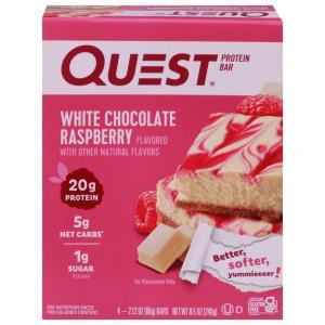 Quest Bar White Chocolate Raspberry