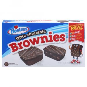 Hostess Triple Chocolate Brownies